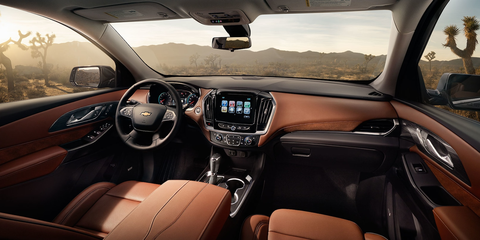 Stunning Interior of the Chevy Traverse