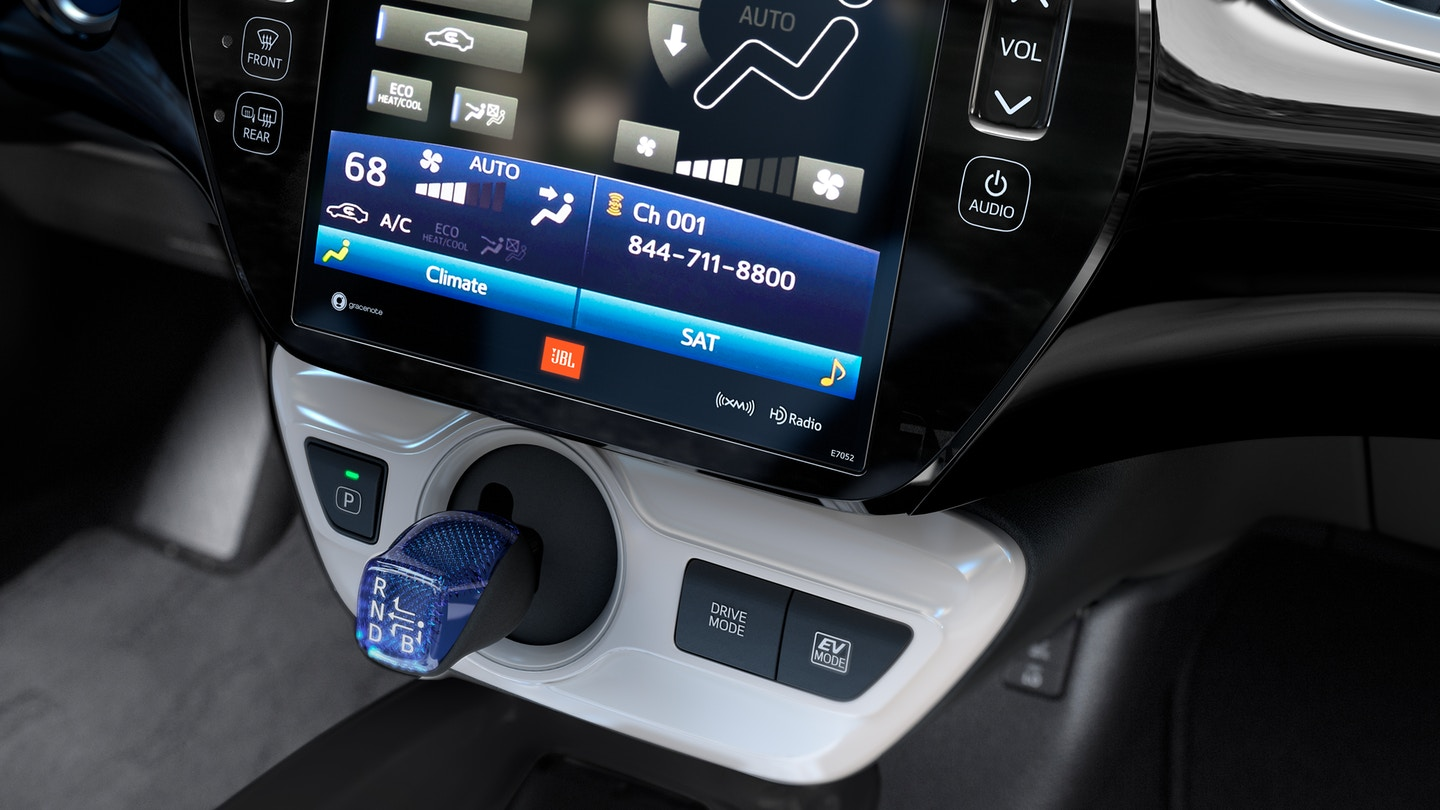 Technology in the Toyota Prius
