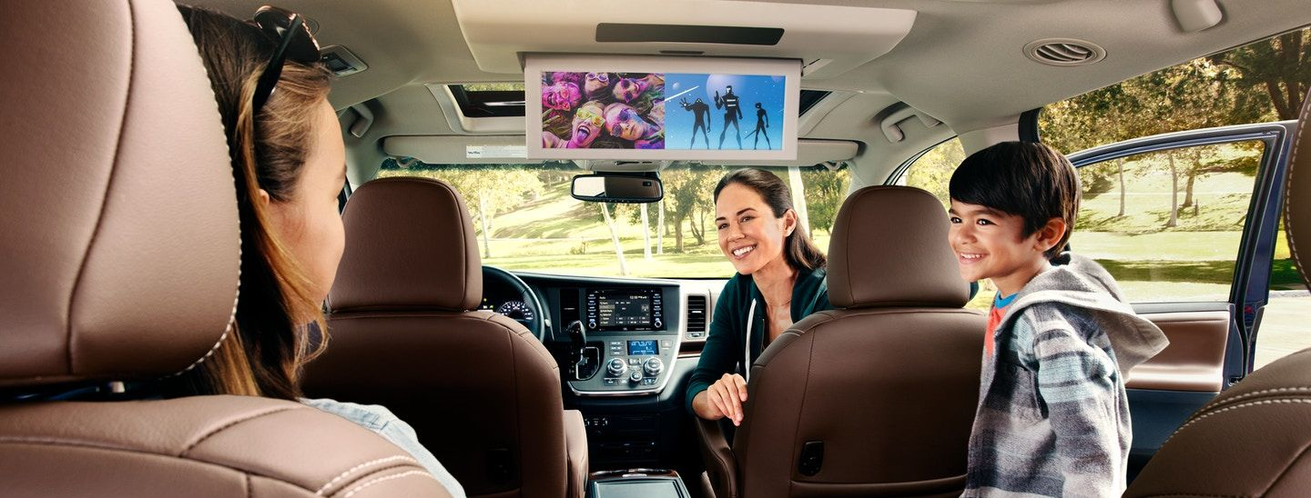 The Family-Friendly Toyota Sienna!
