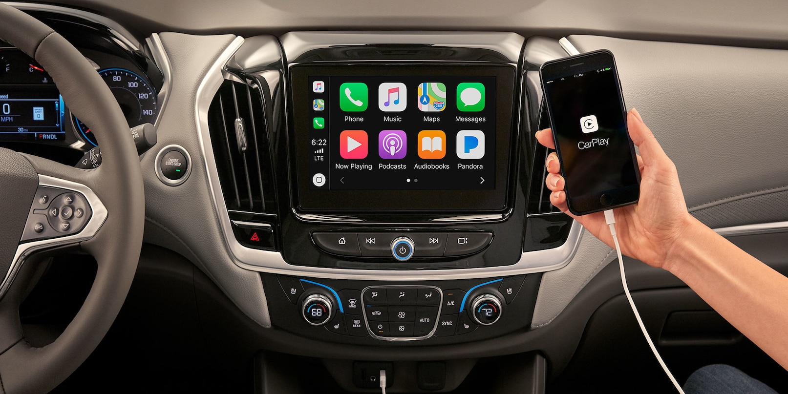 Engaging Features in the Chevy Traverse
