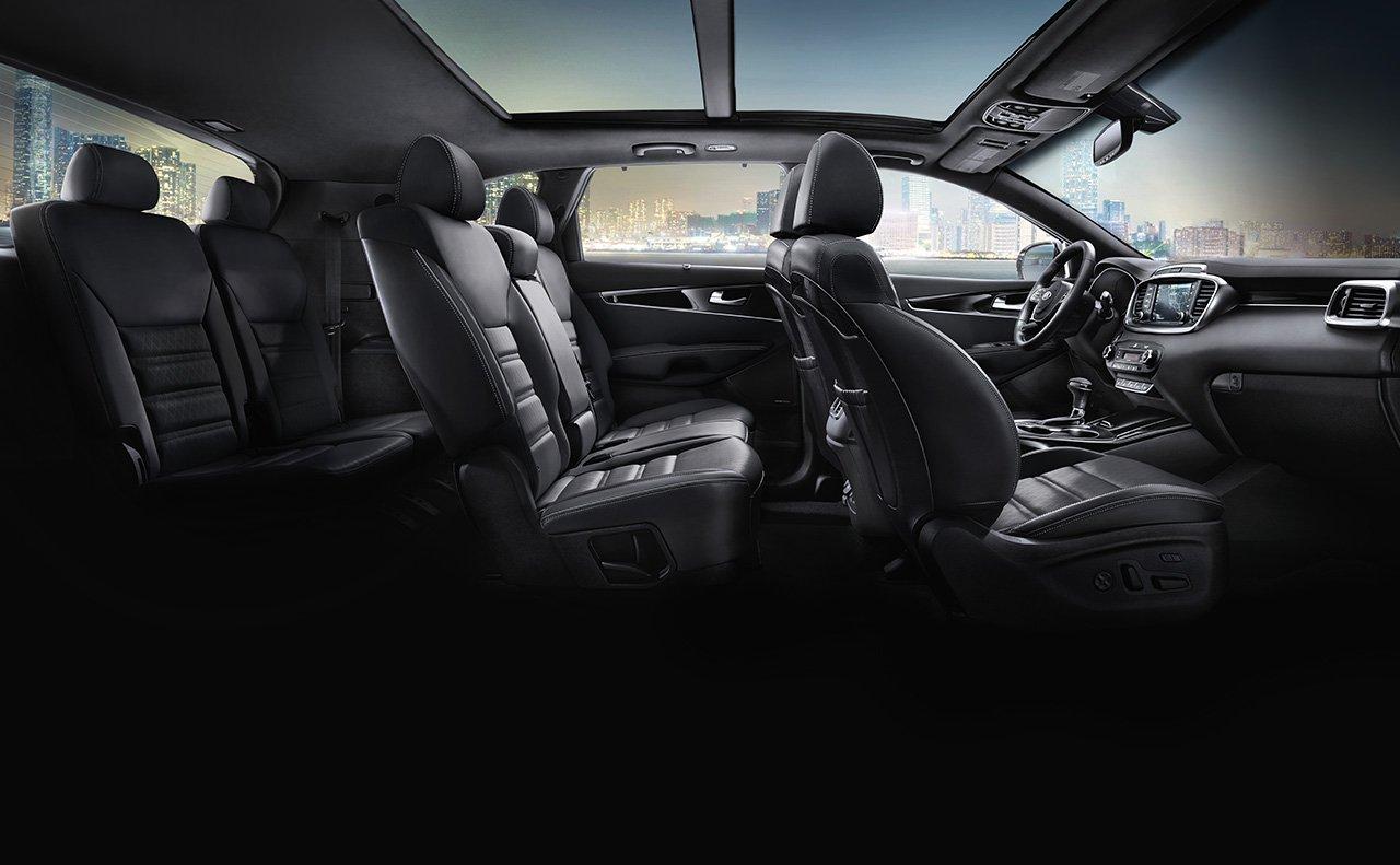 Seating in the 2019 Kia Sorento