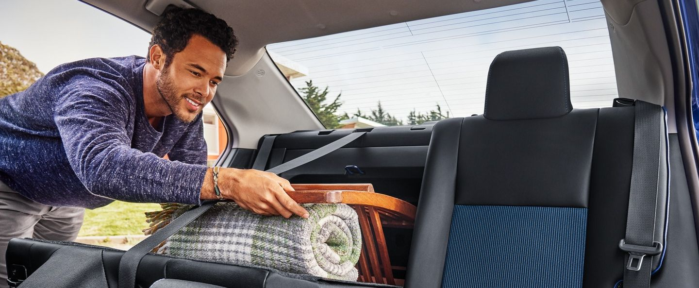 Convenient Storage in the Toyota Corolla!