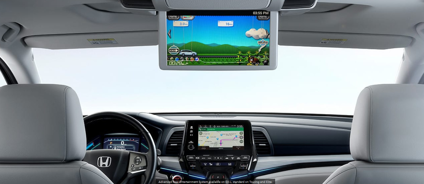 Entertaining Features in the Honda Odyssey
