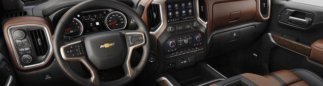 2019 Chevrolet Silverado Center Console