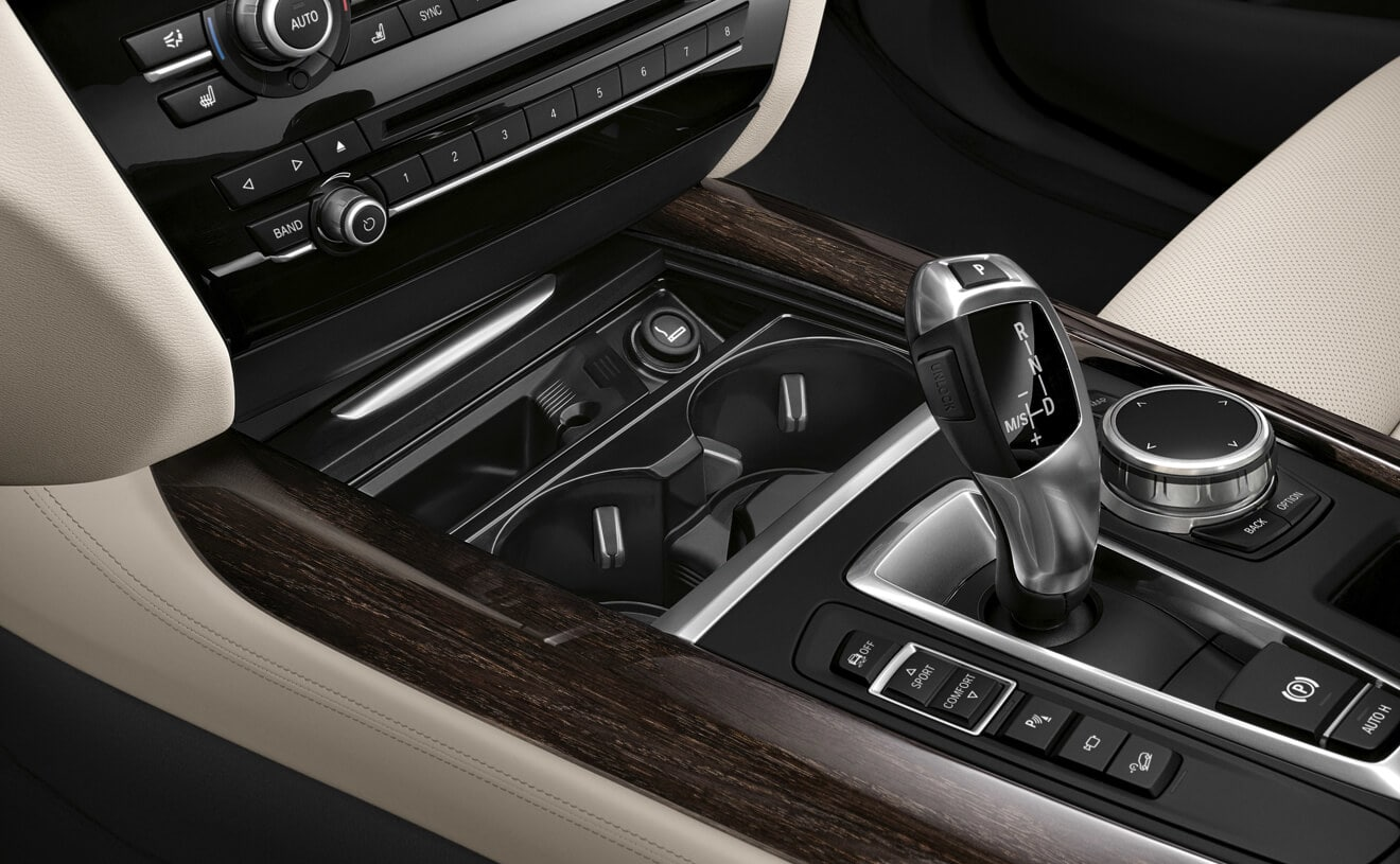 Gear Shift in the 2018 BMW X5