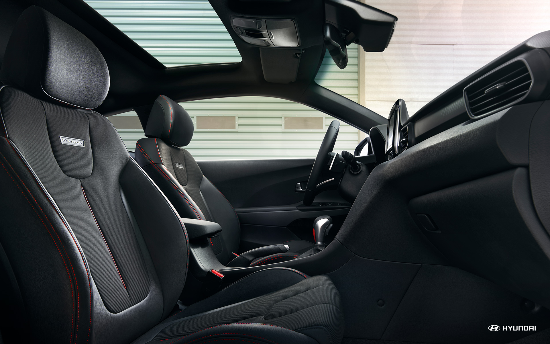 Accommodating Cabin of the 2019 Veloster
