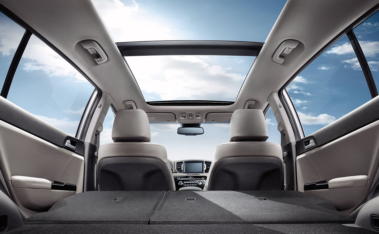 Versatile Interior of the 2018 Kia Sportage