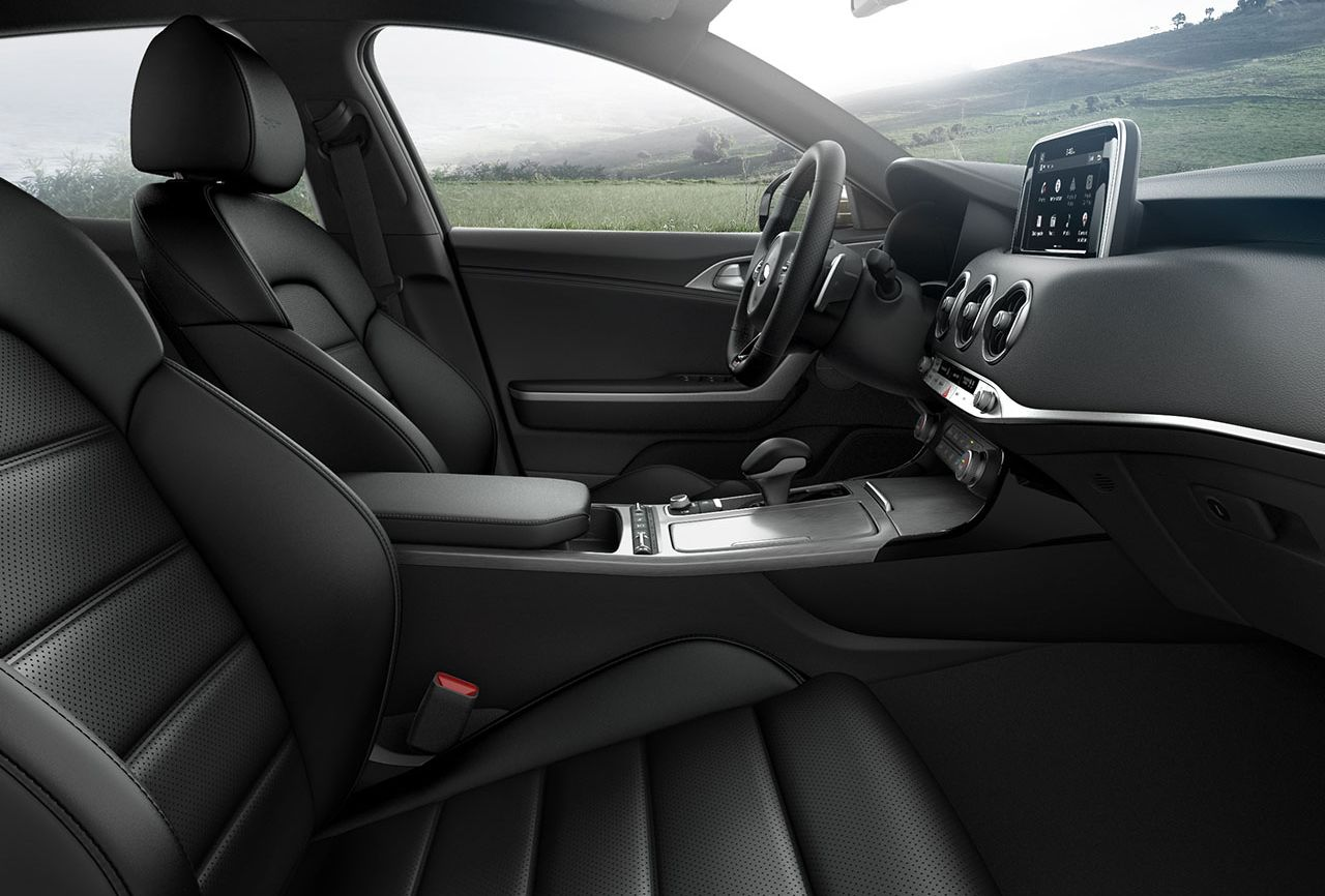 Luxurious Interior of the 2018 Kia Stinger