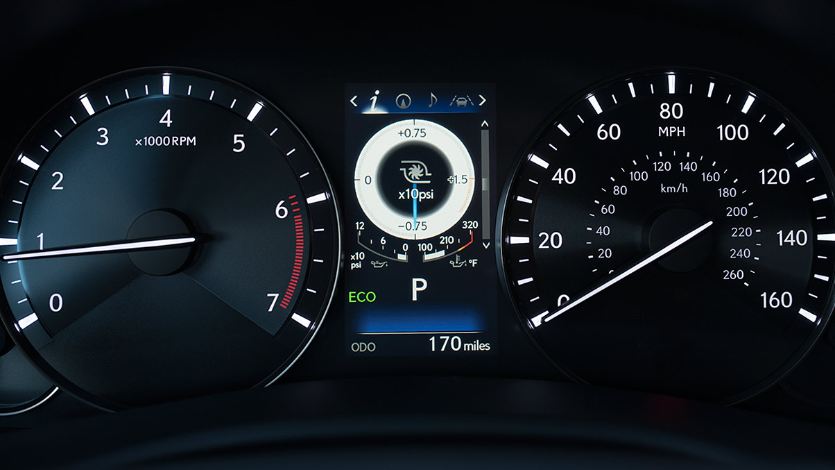Take Command in the Lexus GS 350!