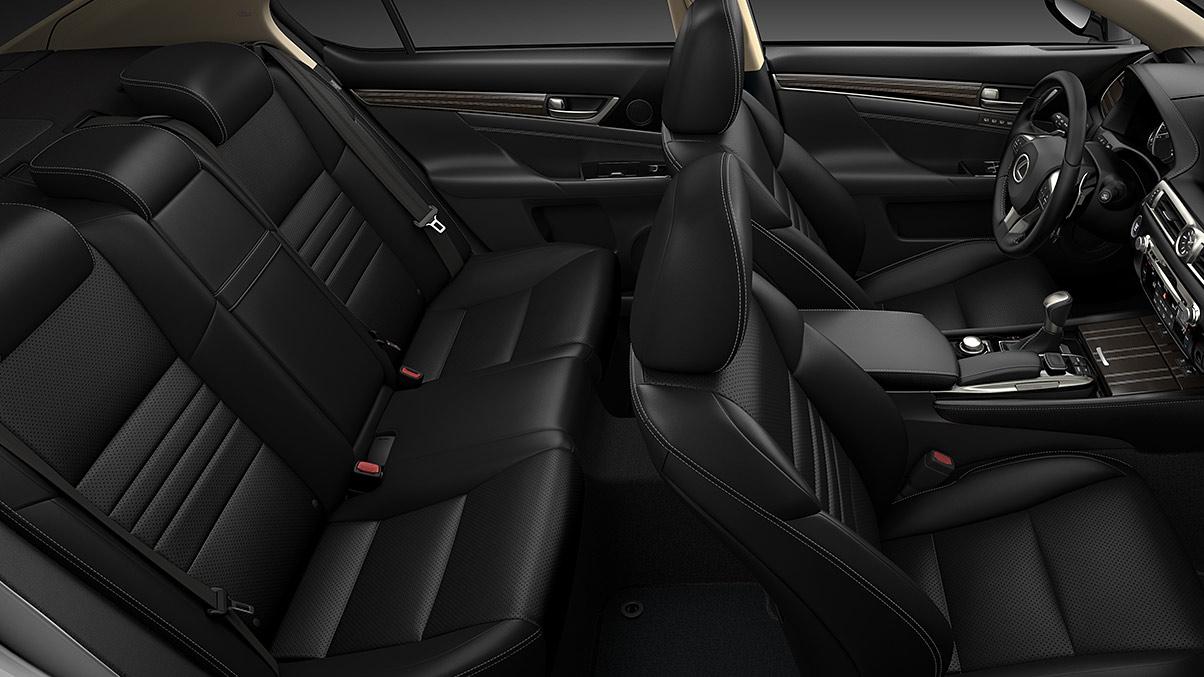 Stunning Interior of the 2018 GS 350
