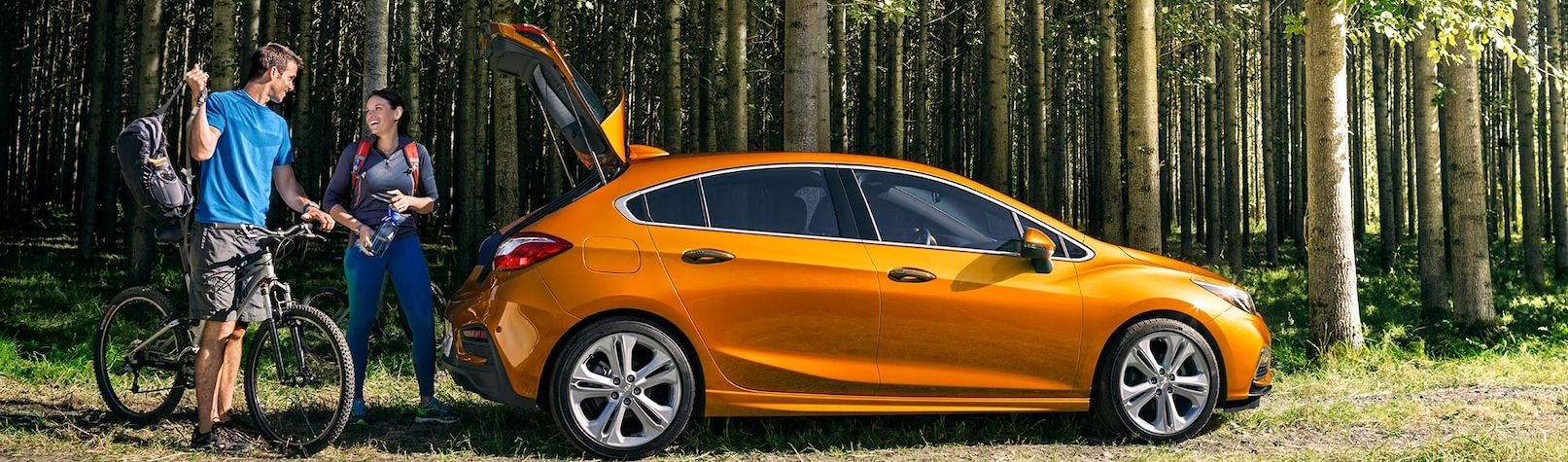 Explore in the Chevy Cruze!