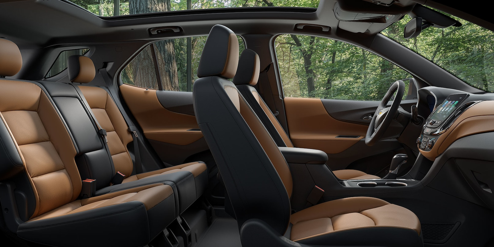 Spacious Cabin in the 2018 Equinox