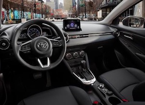 2019 Toyota Yaris driver's seat