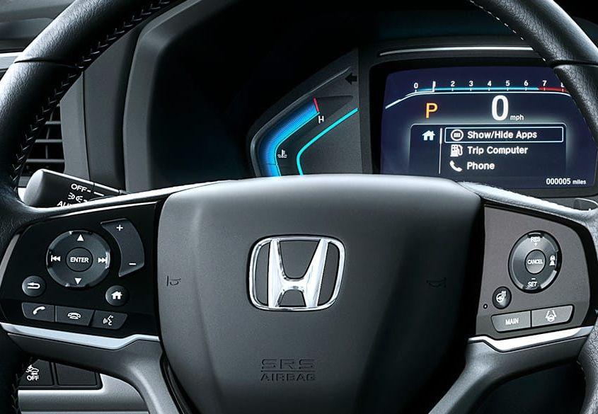 Interior of the 2019 Honda Odyssey