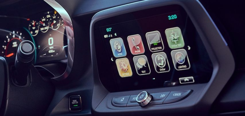 2018 Chevrolet Camaro Center Console