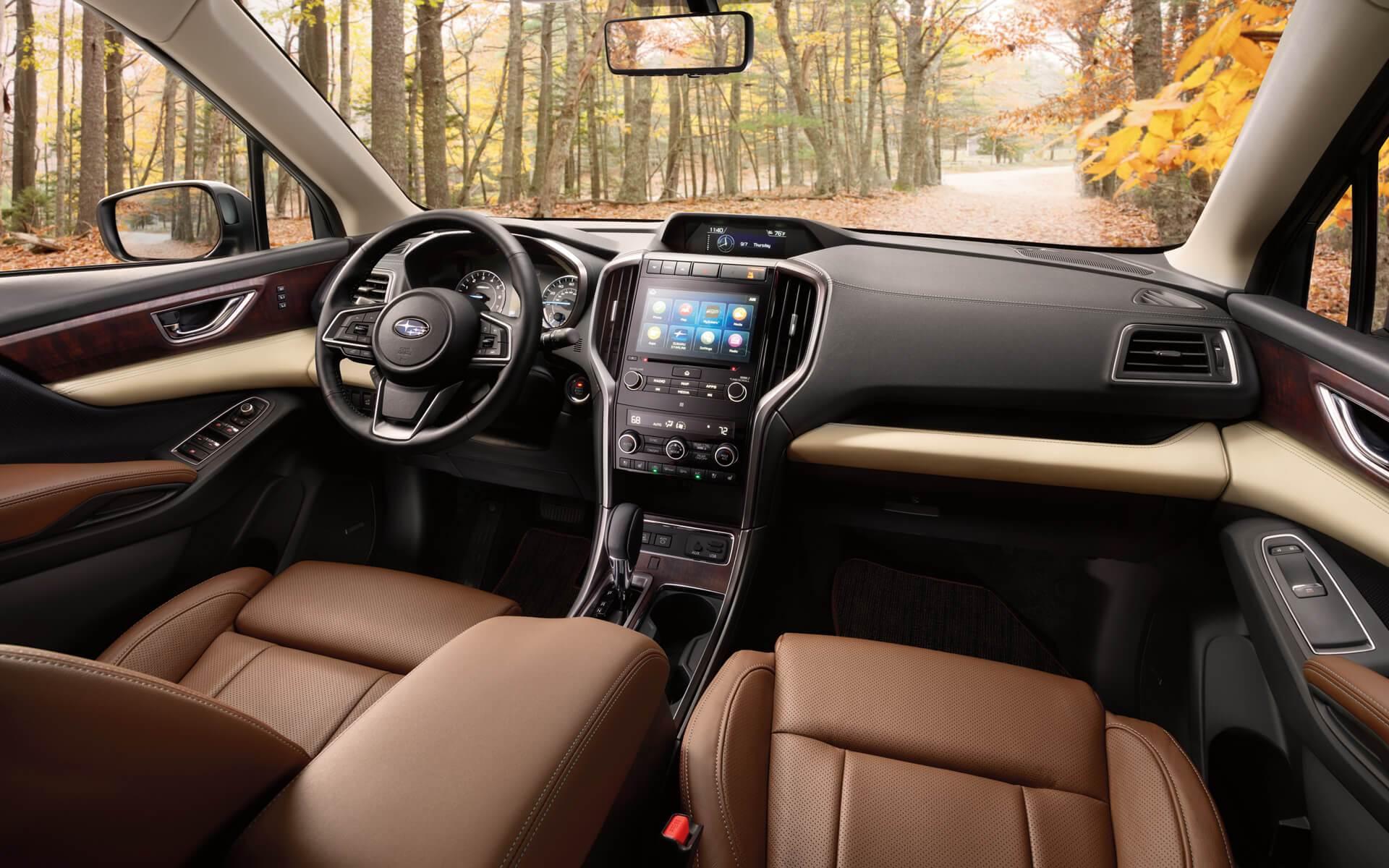 Interior of the 2019 Subaru Ascent