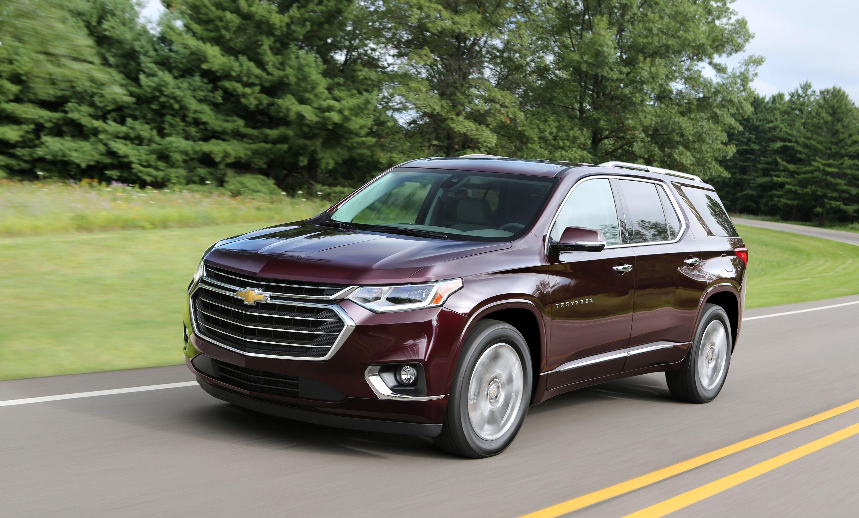 2018 Chevrolet Traverse Financing near Merriville, IN