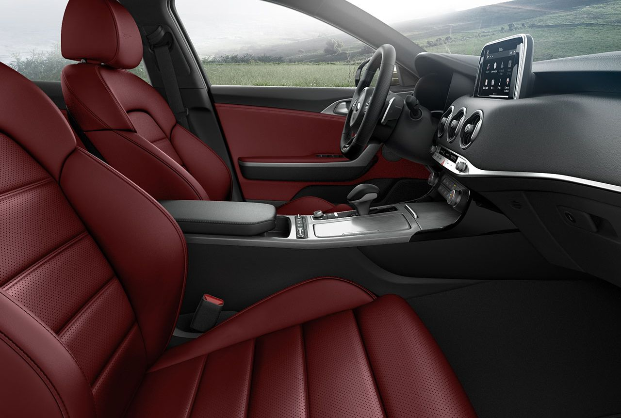 Drive in Extreme Comfort in the 2018 Stinger