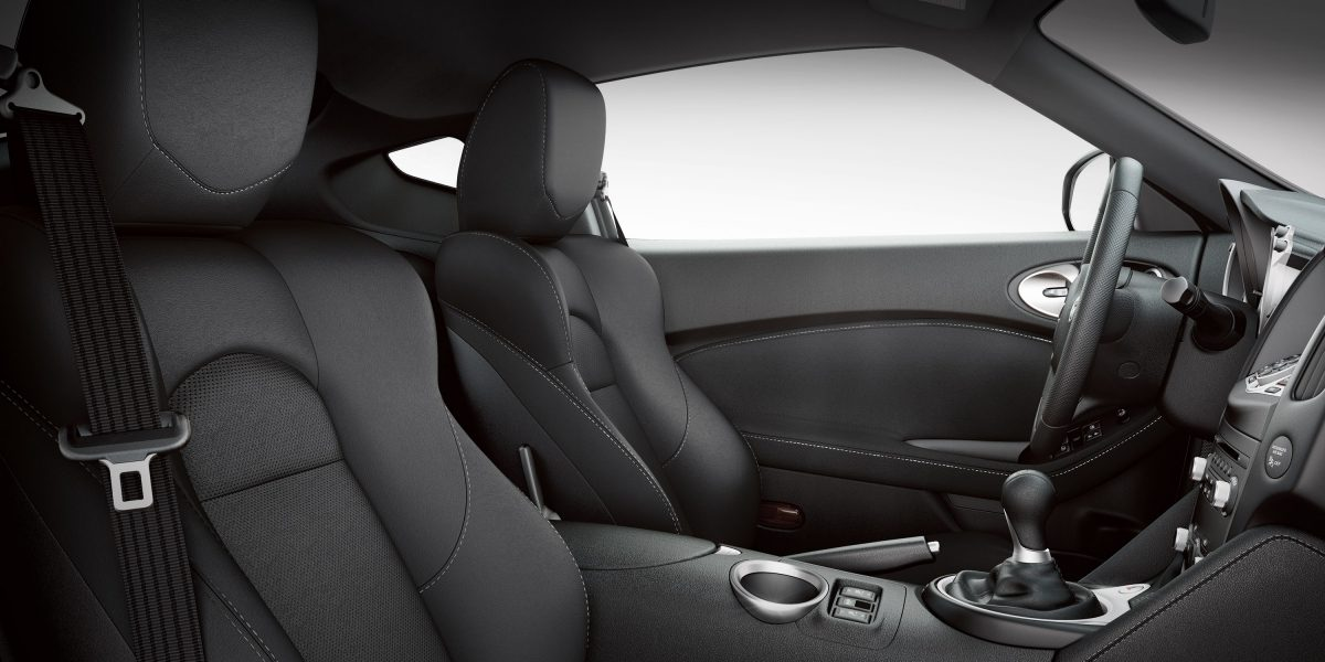 Interior of the 2019 Nissan 370Z