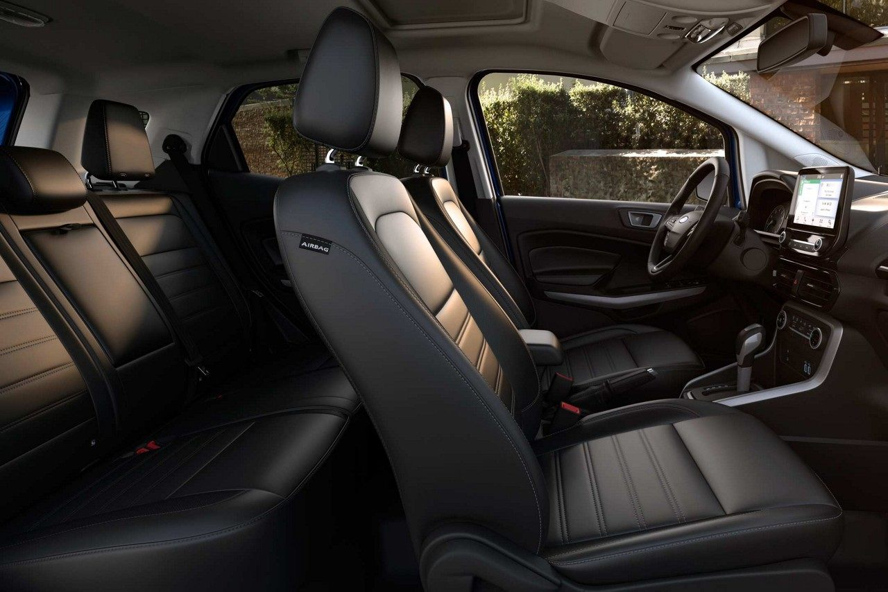 Seating in the EcoSport