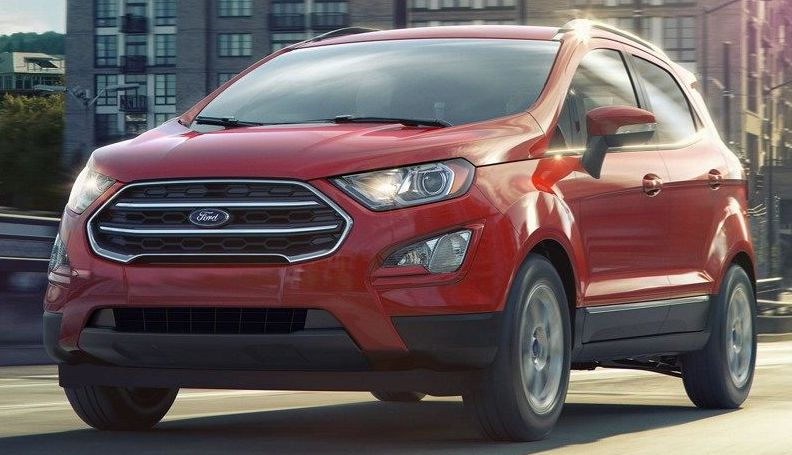 2018 Ford EcoSport Financing near Richardson, TX