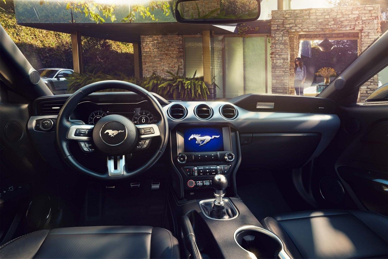 Relax Inside of the Mustang!
