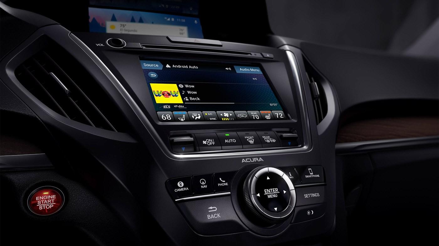 2018 Acura MDX Center Console