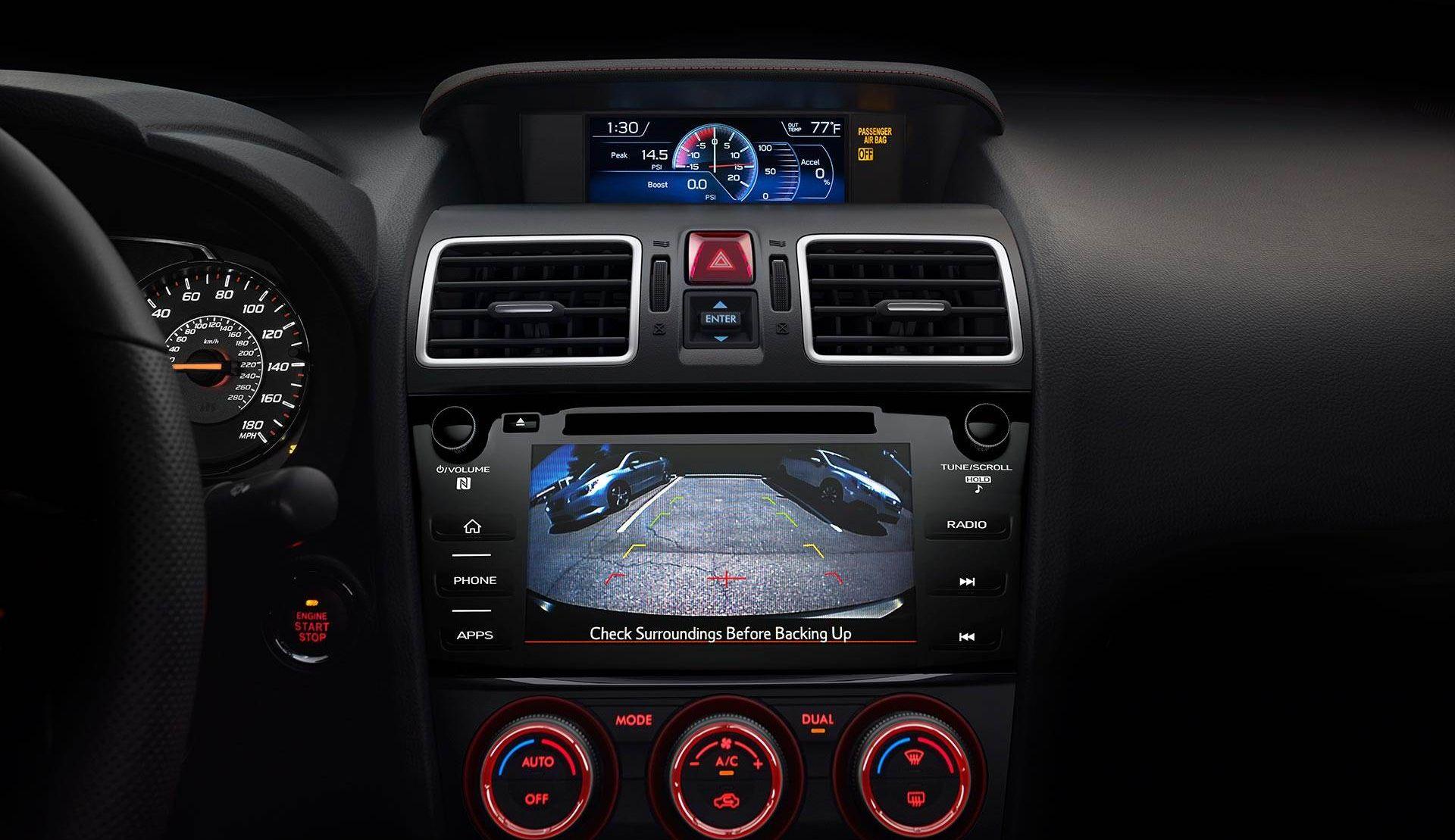 Advanced Cabin of the Subaru WRX