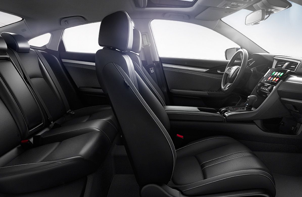 Get Comfortable in the 2018 Honda Civic