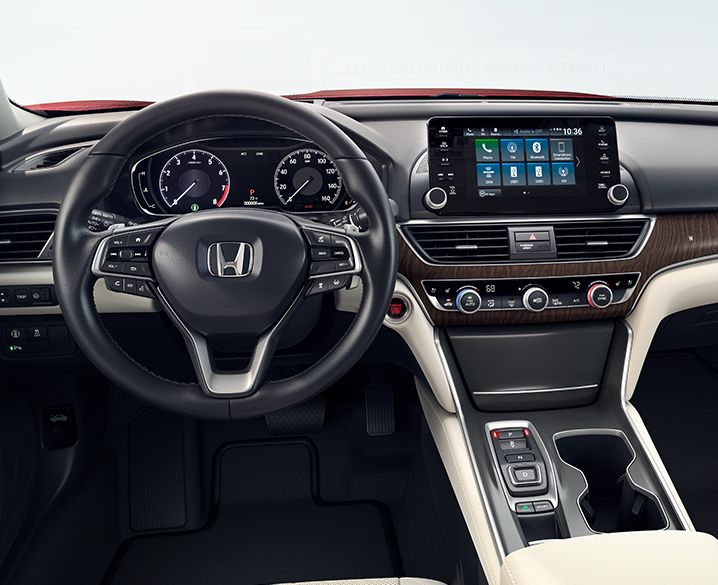 Get Cozy Behind the Accord's Wheel