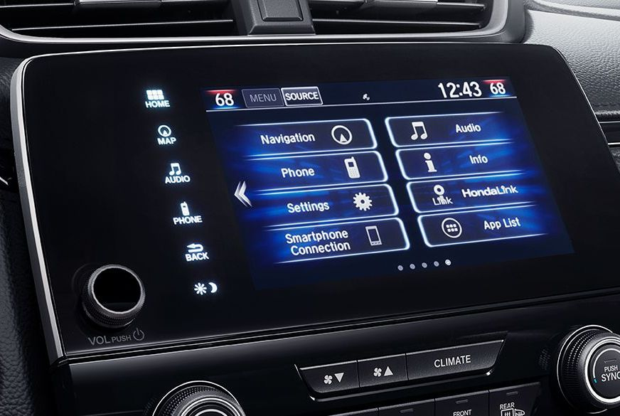 Connectivity in the 2018 Honda CR-V