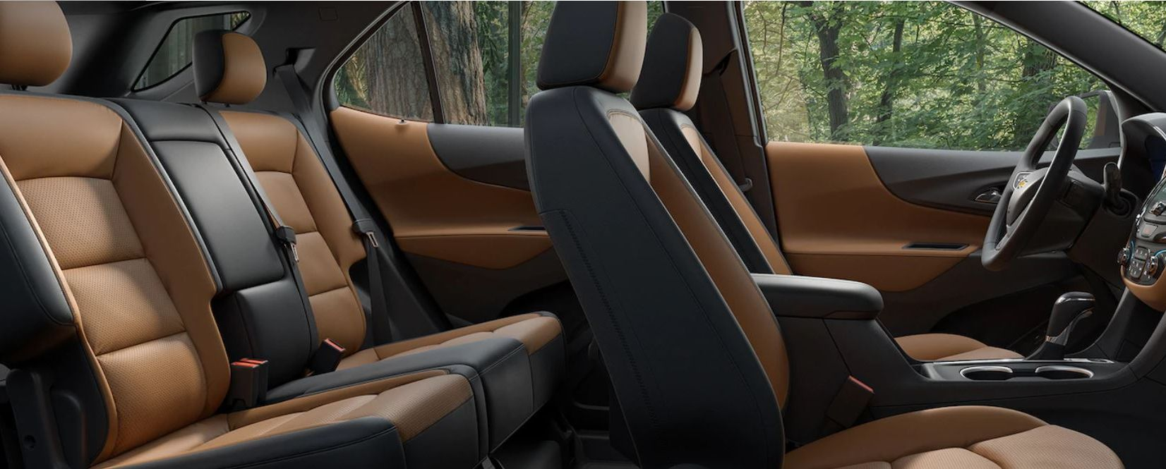 Seating in the 2019 Equinox