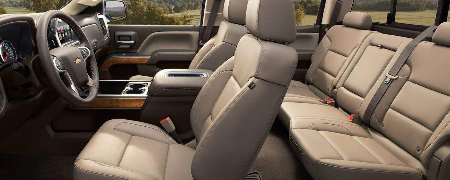Seating in the Silverado 2500HD