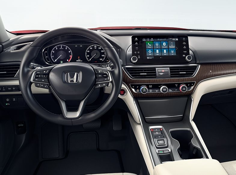 The 2018 Honda Accord's Cabin
