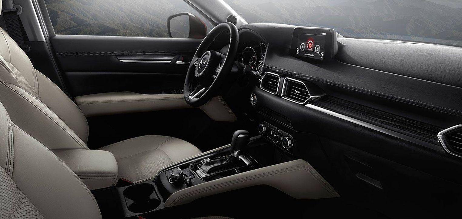 Interior of the Mazda CX-5