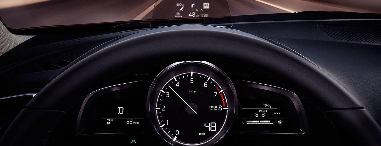 Interior of the Mazda3