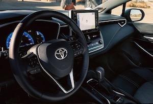 2019 Toyota Corolla Hatchback cabin