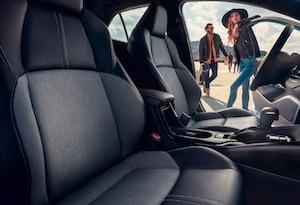 2019 Toyota Corolla Hathcback seating