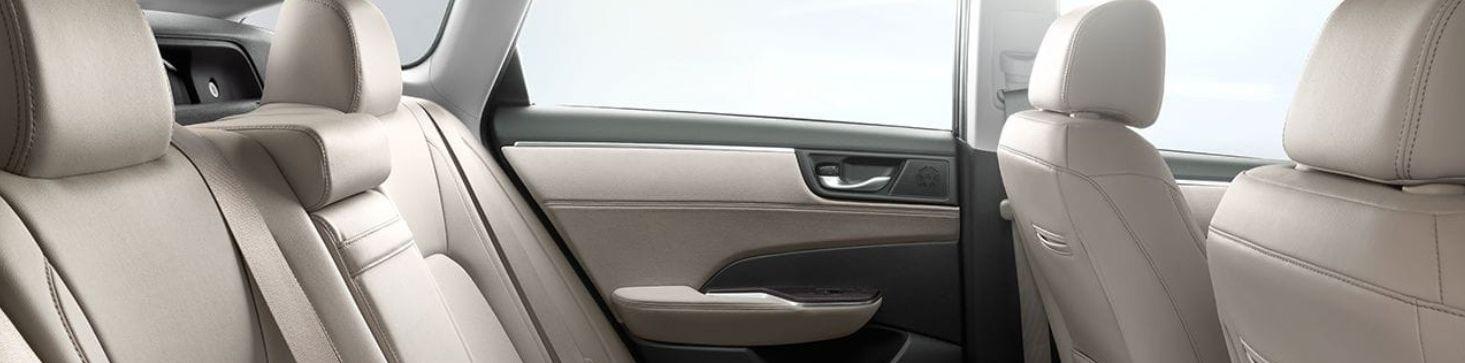 2018 Honda Clarity Plug-In Hybrid Interior