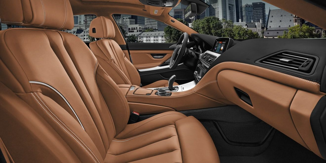 Luxurious Seating in the BMW 6 Series