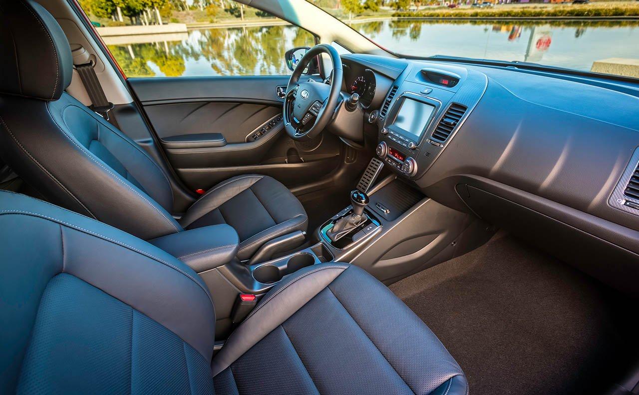 Interior of the 2018 Kia Forte