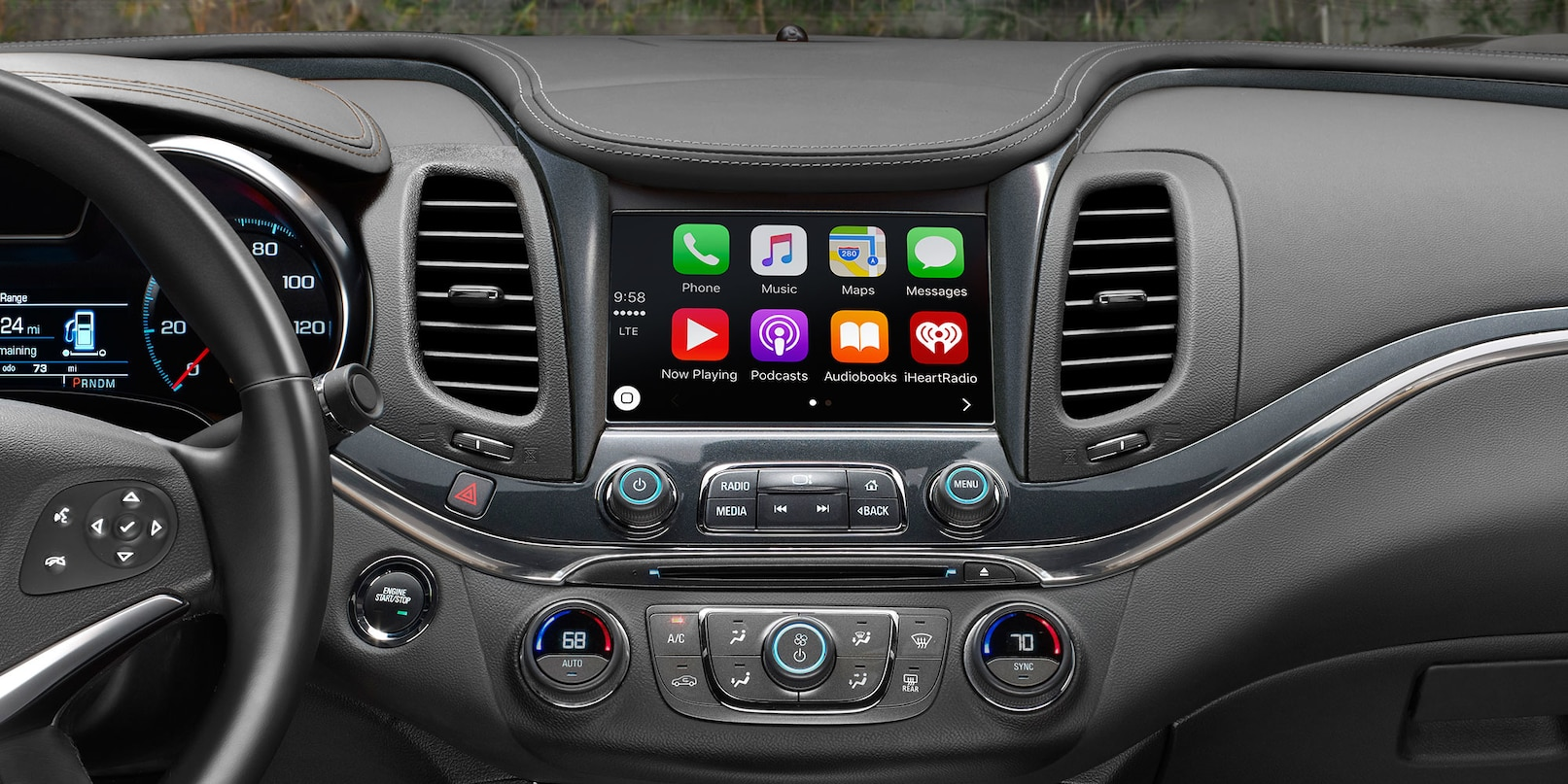 Technology in the 2018 Impala