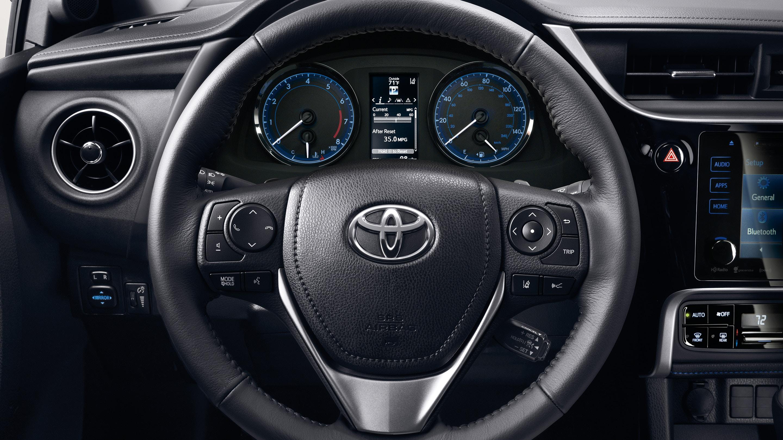 Steering Wheel in the 2019 Toyota Corolla