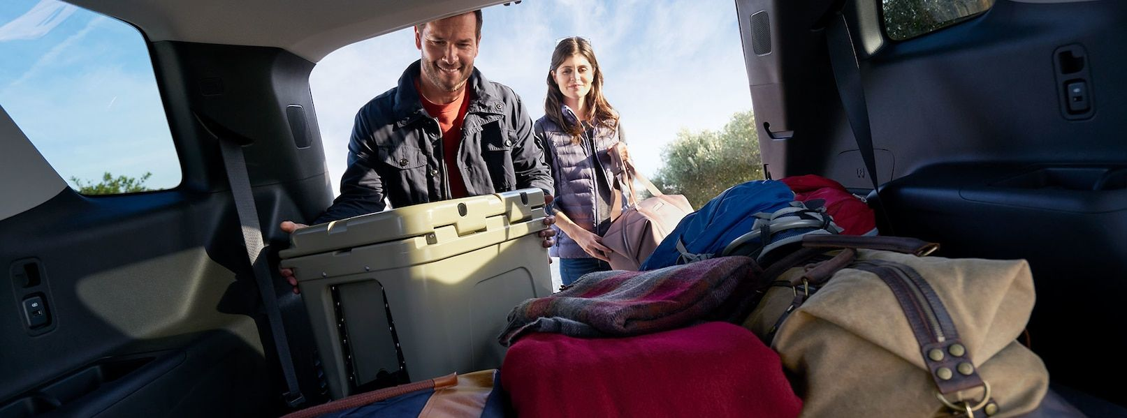 Plenty of Space Inside the Chevy Traverse!