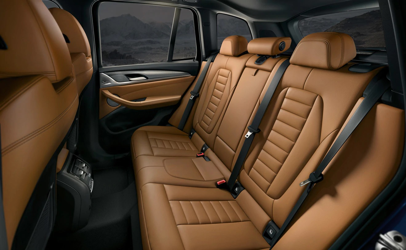 The X3 Was Built With Comfort in Mind!