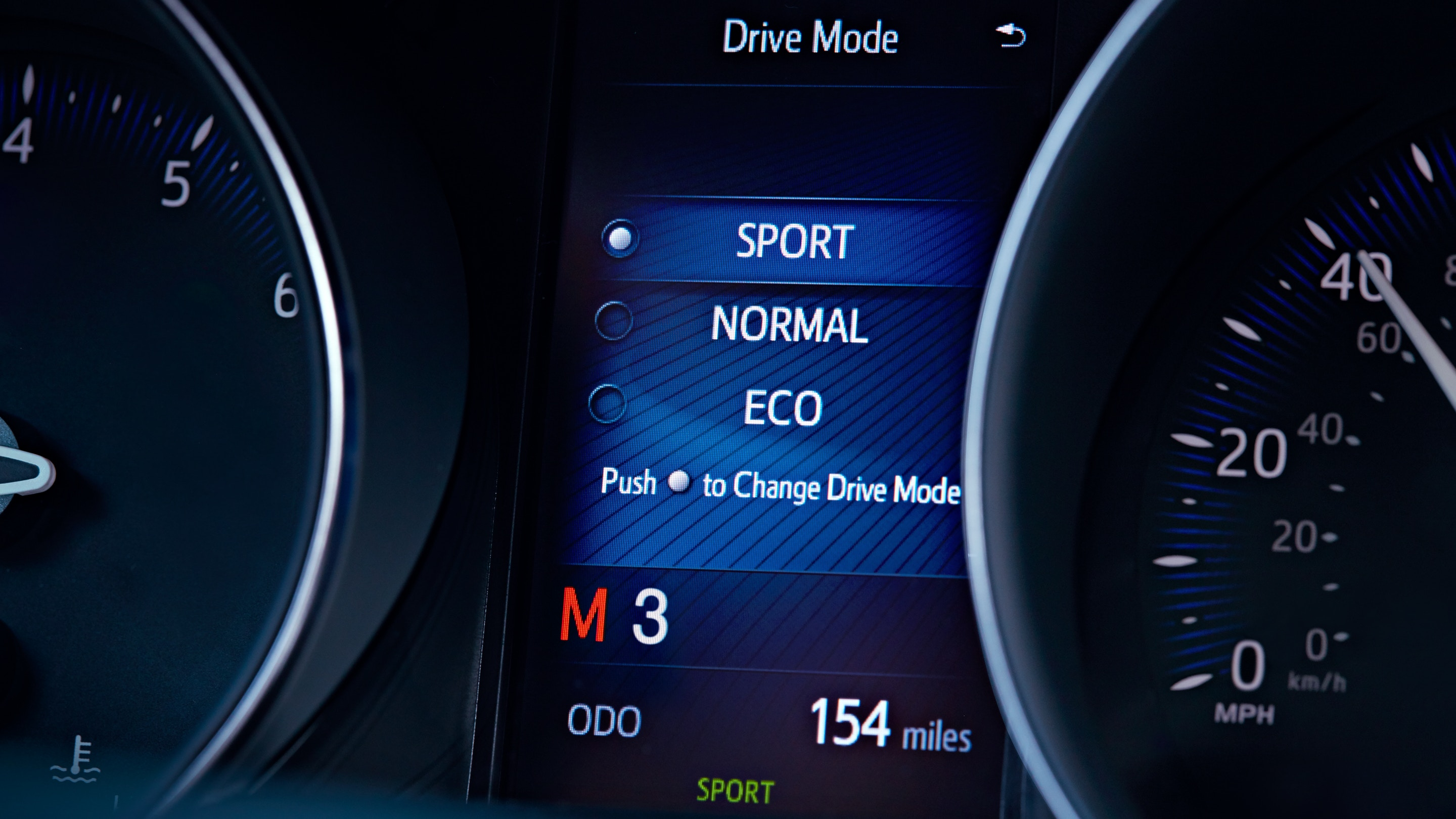 Driving Modes in the C-HR