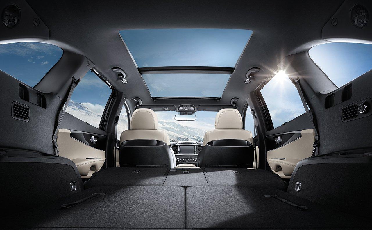 Versatile Seating in the 2018 Kia Sorento