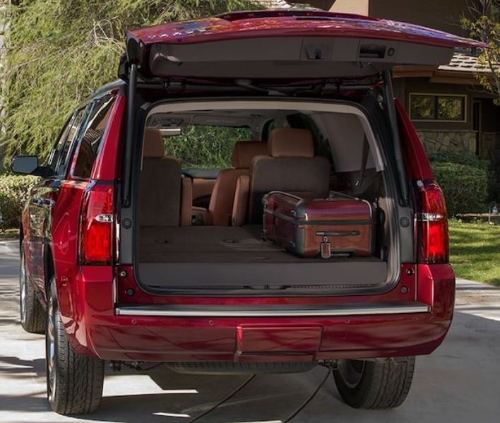 Cargo Space in the Tahoe