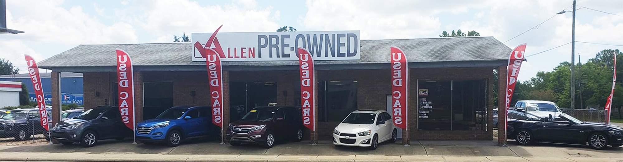 Contact Information - Allen Pre-Owned