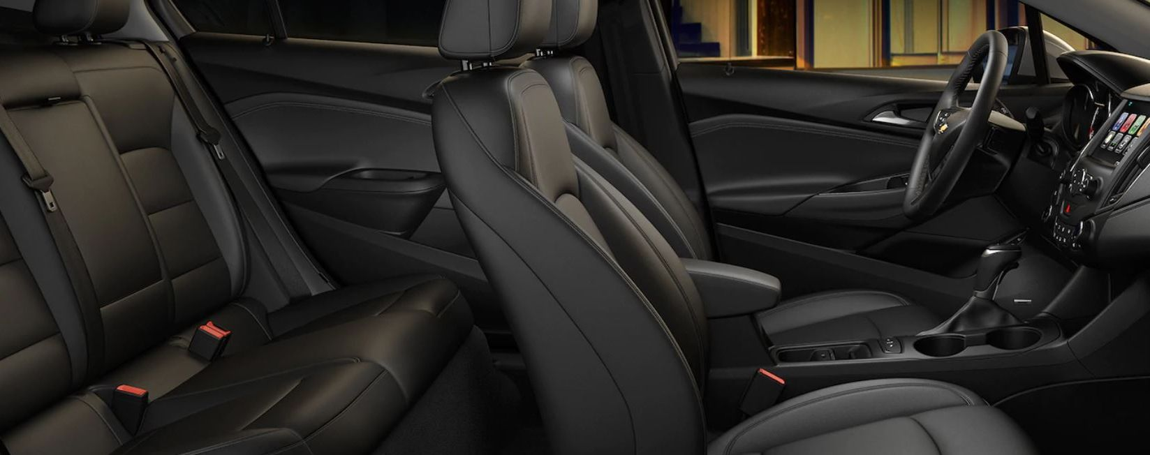 Seating in the Cruze